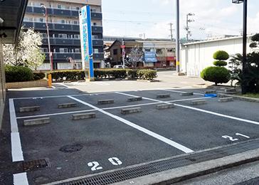 ホテル青雲荘駐車場